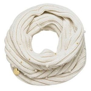 Betsey Johnson Pearly Girl Cowl Scarf